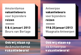 Vakantiebeurzen 2013